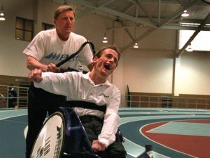 Dick and Rick Hoyt-TEAM HOYT